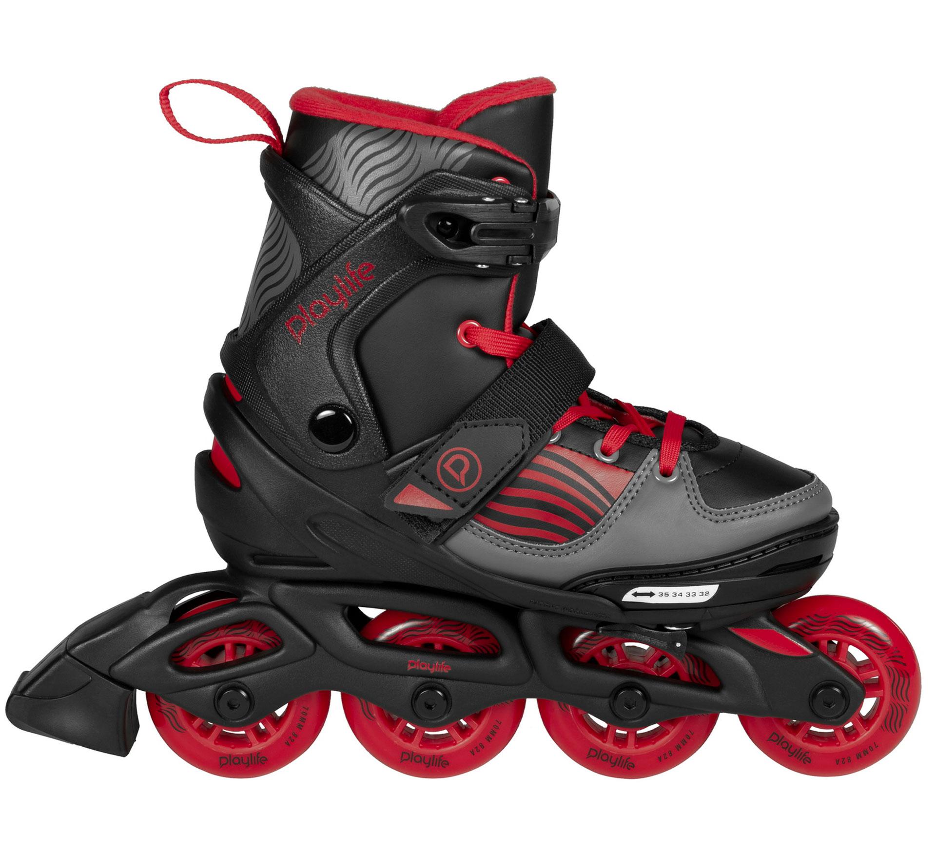 Playlife Dark Breeze Inline Skates Junior (verstelbaar)