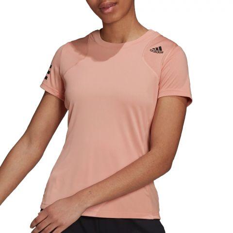 Adidas-Club-3-Stripes-T-Shirt-Dames-2108241747