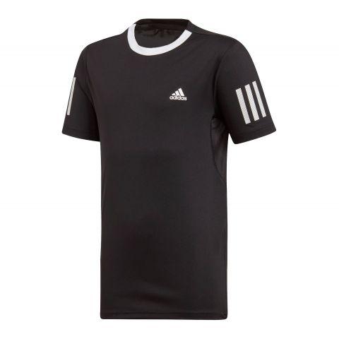Adidas-Club-3-Stripes-T-Shirt-Jongens