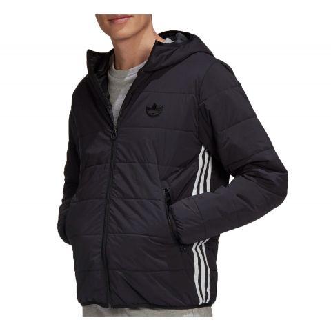 Adidas-Lightweight-Zip-Padded-Trefoil-Hooded-Jas-Heren