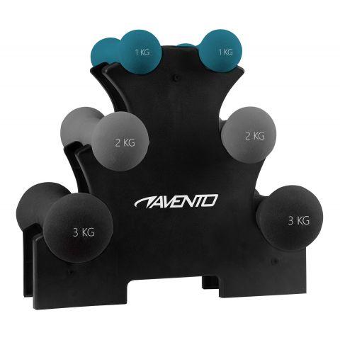 Avento-Handgewichten-Set-3-paar-