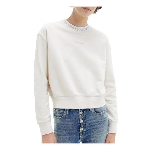 Calvin-Klein-Logo-Trim-Sweater-Dames