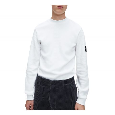 Calvin-Klein-Monogram-Badge-Waffle-Shirt-Heren
