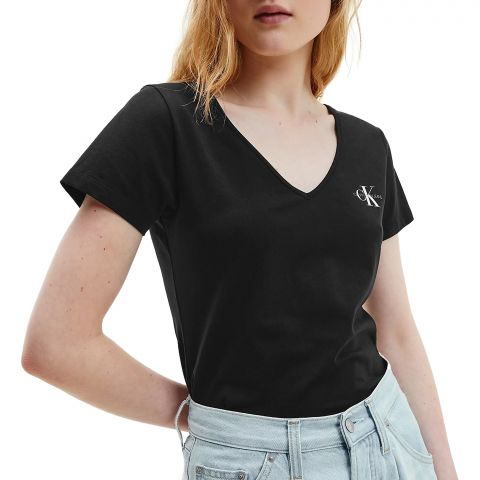 Calvin-Klein-Monogram-V-neck-Shirt-Dames-2107131551