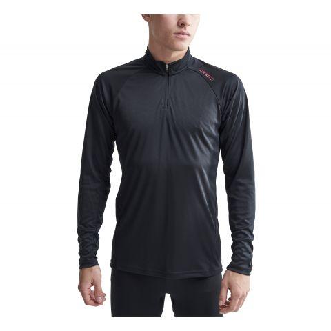 Craft-Eaze-LS-Half-Zip-Hardloopshirt-Heren