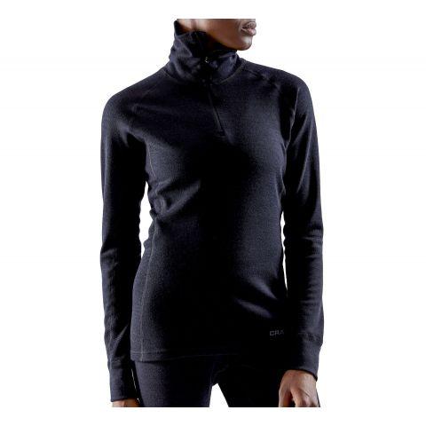 Craft-Merino-240-Zip-Shirt-Dames