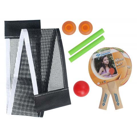 Donic-Schildkr-t-Fun-Sports-Mini-Tafeltennis-Set-2-spelers-