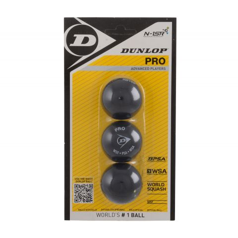 Dunlop-Pro-Squashbal-3-pack-