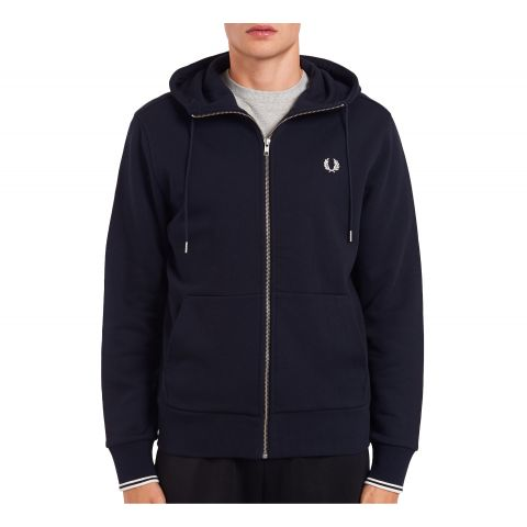 Fred-Perry-Hooded-Sweatvest-Heren