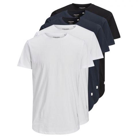 Jack--Jones-Noa-Crew-T-Shirts-Heren-5-pack--2107290911