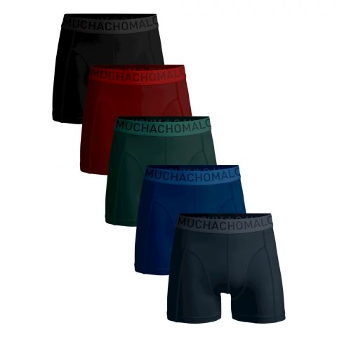 Muchachomalo-Solid-Boxers-Heren-5-pack--2110221441