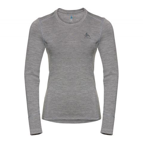 Odlo-Natural-100-Merino-Warm-Thermoshirt-Dames