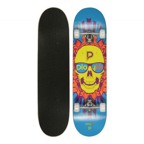 Playlife-Skullhead-Skateboard