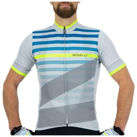 Rogelli-Stripe-Wielrenshirt-Heren