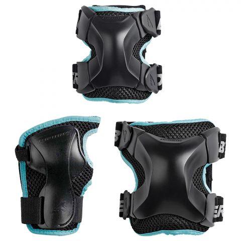 Rollerblade-X-Gear-Beschermset-3-pack-Dames