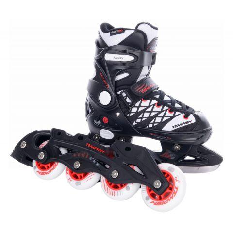Tempish-Clips-Duo-IJshockeyschaats-Skate-Junior-verstelbaar-