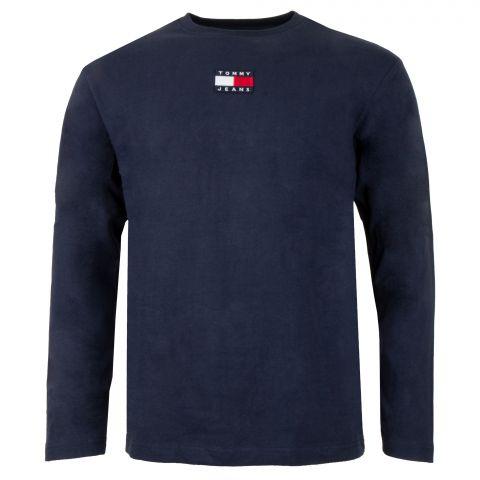 Tommy-Hilfiger-Badge-LS-Shirt-Heren-2106231013