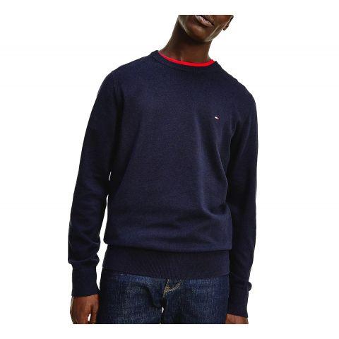 Tommy-Hilfiger-Cotton-Blend-Crew-Sweater-Heren