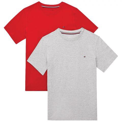 Tommy-Hilfiger-Cotton-Crew-Neck-T-shirt-Junior-2-pack-
