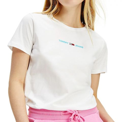 Tommy-Hilfiger-Slim-Multi-Linear-Logo-Shirt-Dames