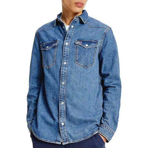 Tommy-Hilfiger-Western-Denim-Overhemd-Heren-2108300955