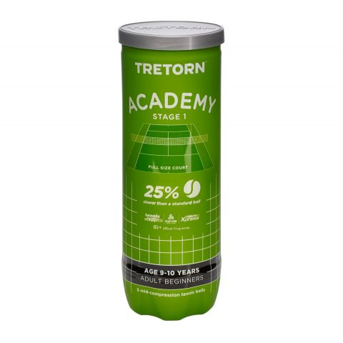 Tretorn-Academy-Green-Stage-1-Tennisball-3-can-