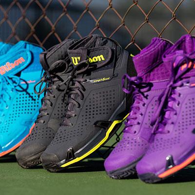 Welke tennisschoen op welke ondergrond