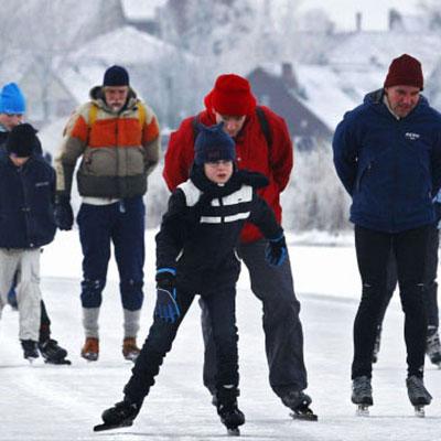 Schaatsen, dé winterworkout